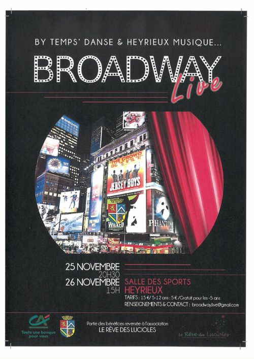 "Spectacle ""Broadway Live"""